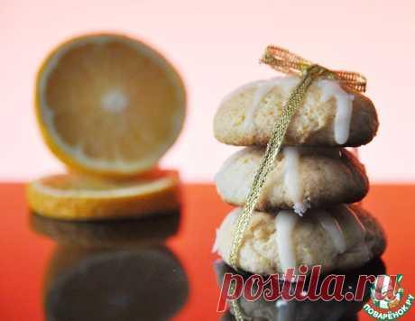 """Творожное печенье """"С апельсиновым ароматом"""" – кулинарный рецепт"""