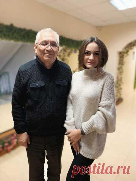 С Юлией Бегуновой. АФ СПбГУП