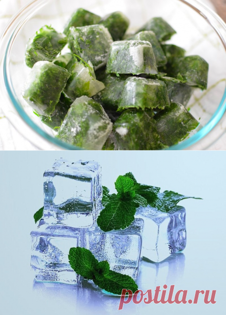 Лед для лица с травами: как применять кубики льда из травяного отвара?