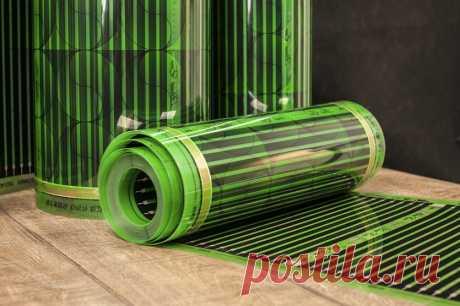 Инфракрасная карбоновая греющая пленка Heat Eco Green (Ю.Корея) ширина 80 см