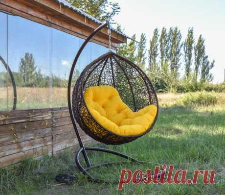 Подвесное кресло кокон: как сделать своими руками?
