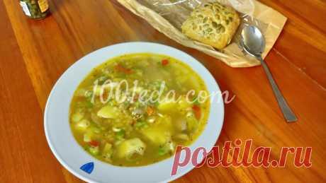 Куриный суп с пореем, чечевицей и сладким перцем: рецепт с пошаговым фото - Куриный суп от 1001 ЕДА вкусные рецепты с фото!