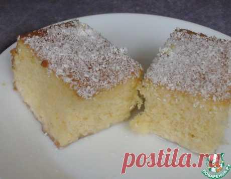 "Пирог ""Три молока"" – кулинарный рецепт"