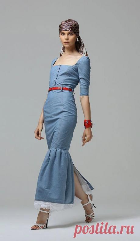 Новинки джинсовой одежды для женщин: Модно, красиво, удобно   Школа стиля 50+   Яндекс Дзен