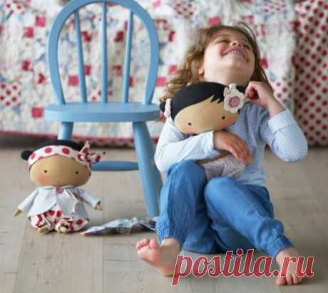 Шьем хорошенькую куколку — DIYIdeas