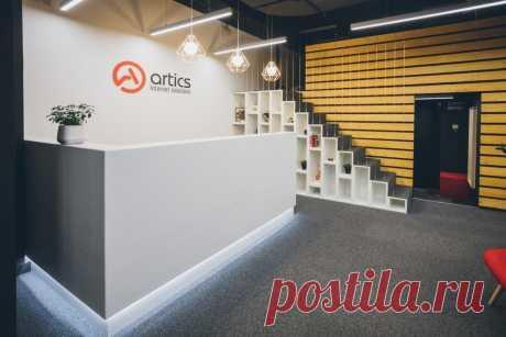 Штаб-квартира: офис маркетингового агентства Artics Internet Solutions в Москве