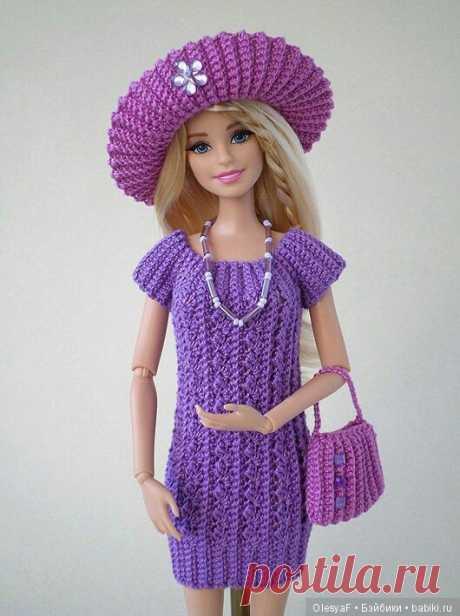 Платье для Барби / Одежда и обувь для кукол своими руками / Бэйбики. Куклы фото. Одежда для кукол