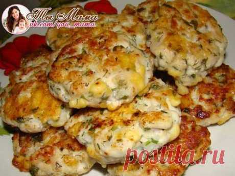 CHICKEN CUTLETS WITH VEGETABLES