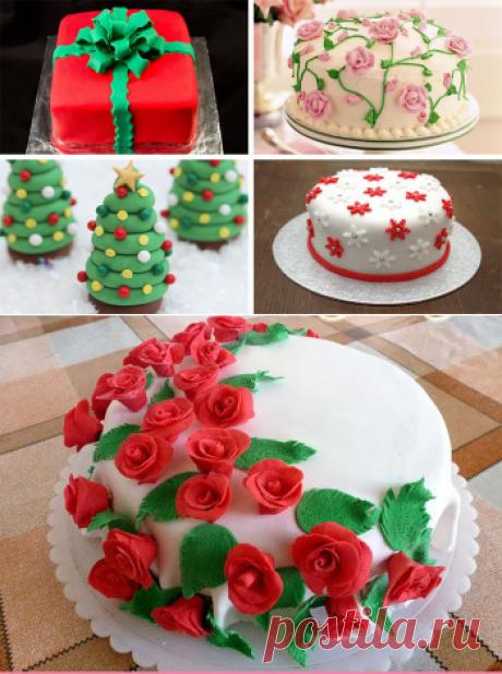 Украшаем домашний торт своими руками