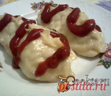 Пигоди или корейские пирожки на пару рецепт с фото