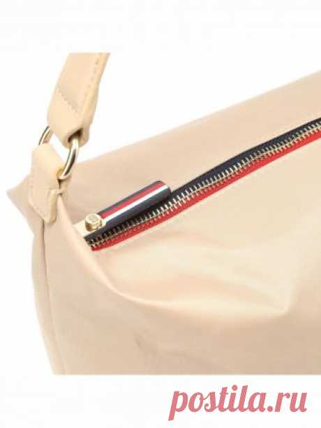 Женская сумка Tommy Hilfiger цвет бежевый за 3 699 Р