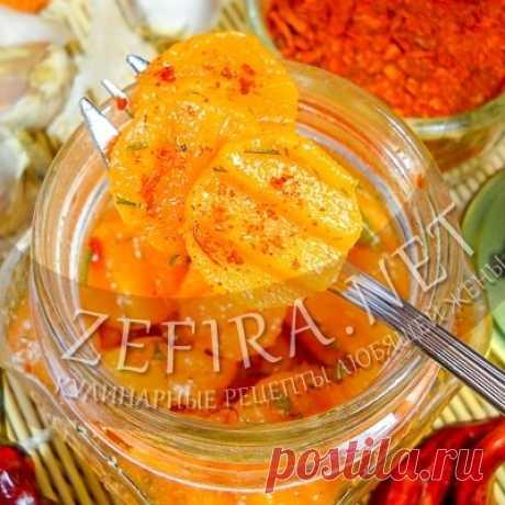 Морковь кружочками в остром соусе – рецепт оригинальной закуски — Кулинарные рецепты любящей жены