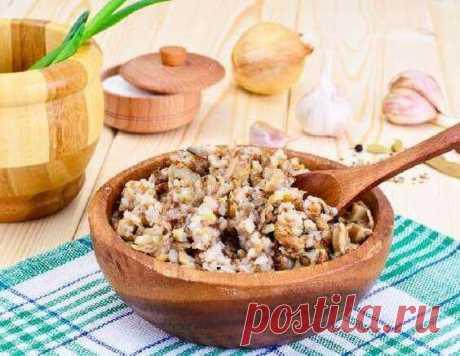 Гречка с грибами, луком и морковью — рецепт в духовке | maggi.ru