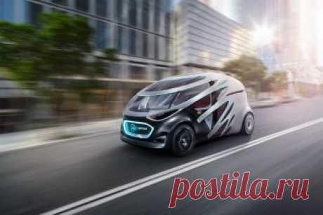 Mercedes-Benz Vision URBANETIC – автономный фургон будущего Этот концепт модульного городского беспилотного транспортного средства с отсоединяемой электрической тележкой и сменными кузовами по мере необходимости превращается то в автономное такси, то в развозной фургон …