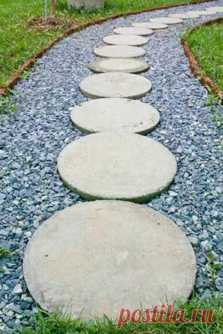 Красивые бетонные фигуры для сада своими руками. Красивые интерьеры и дизайн