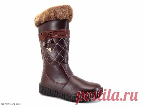 Сапоги школьные Милтон 26535 - детская обувь, обувь для девочек, сапоги. Купить обувь Milton