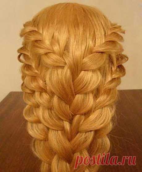 Как заплести красивую косу.