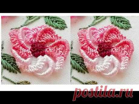 Цветочная вышивка | Весенние цветы| новый дизайн