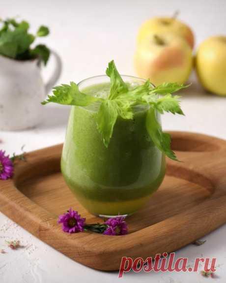 Смузи для похудения иочищения организма— пошаговый рецепт сфото. Зеленый смузи согурцом исельдереем, который утолит ижажду, иголод.
