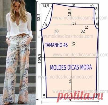 Моделирование брюк — Сделай сам, идеи для творчества - DIY Ideas