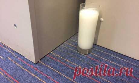 Невероятно! Вот что произойдет с квартирой, если поставить на пол стакан с солью и уксусом - Жизнь - Limon