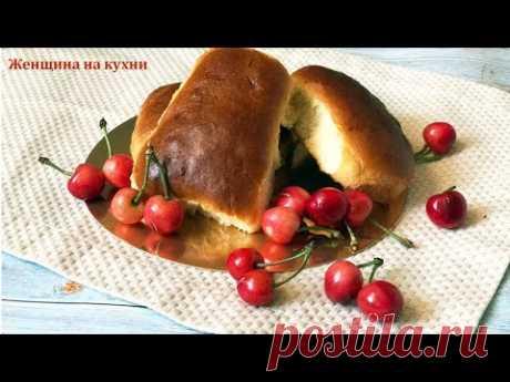 Пирожки с черешней в духовке. Рецепт вкусных и нежных как пух пирожков