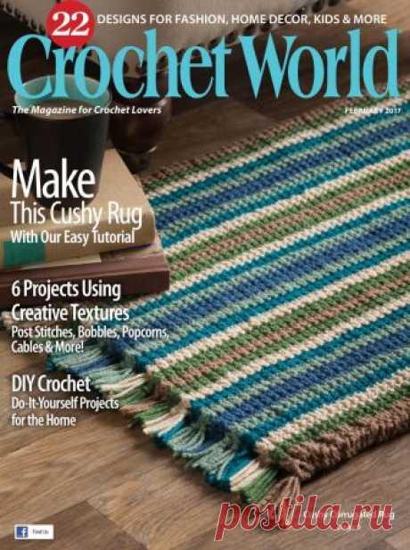 Crochet World February 2017