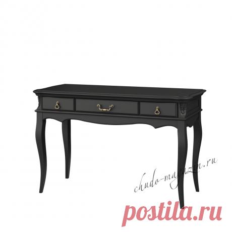 Письменный стол черный классический