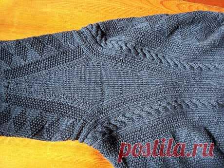 Ганзейский рыбацкий свитер: история возникновения и особенности вязания - Ярмарка Мастеров - ручная работа, handmade