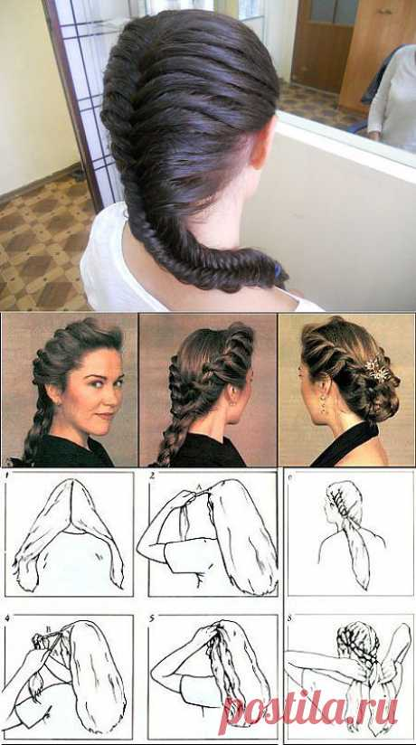 Косички на длинные волосы                                   ������� �� ������� ������