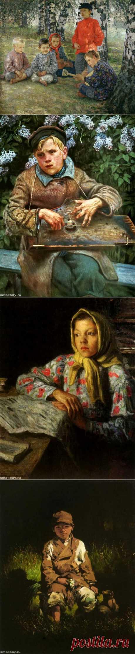 (+1) тема - Николай Богданов-Бельский | Искусство
