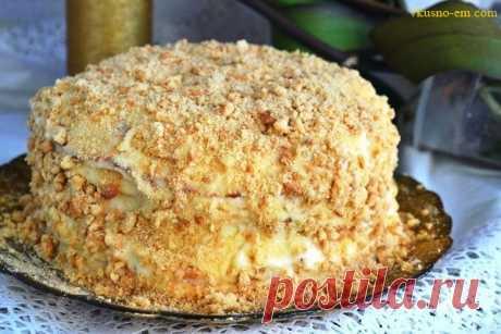 """Торт """"Наполеон"""" на сковородке Рецепт всем известного торта Наполеона, только в этот раз мы будем готовить его на сковородке. Рассмотрим рецепт: Содержание статьи1 Ингредиенты:2 Приготовление: Ингредиенты: Для теста: ● Мука — 3..."""