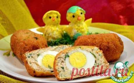 Яйца в футляре - кулинарный рецепт