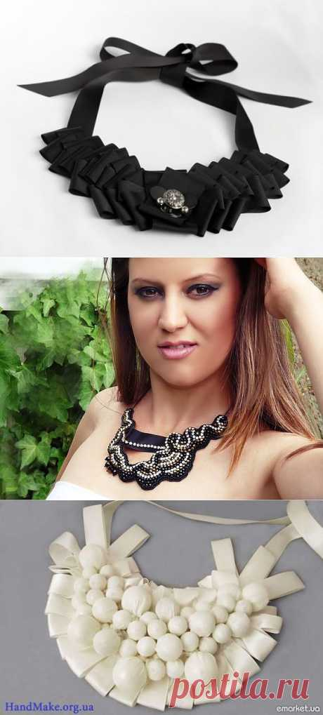 Украшения на шею (подборка) / Украшения и бижутерия / Модный сайт о стильной переделке одежды и интерьера