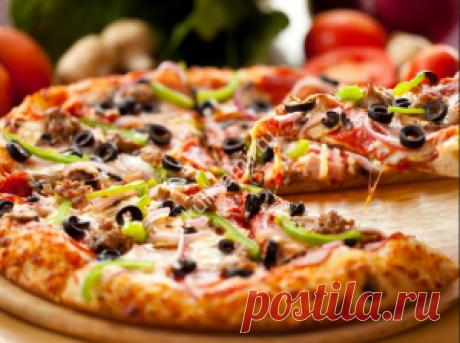 Как приготовить пиццу рецепт