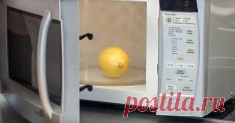 Кухонные трюки: лимон в микроволновке, заточка ножей, выбор перца, замерзшее масло   Домсоветы   Яндекс Дзен