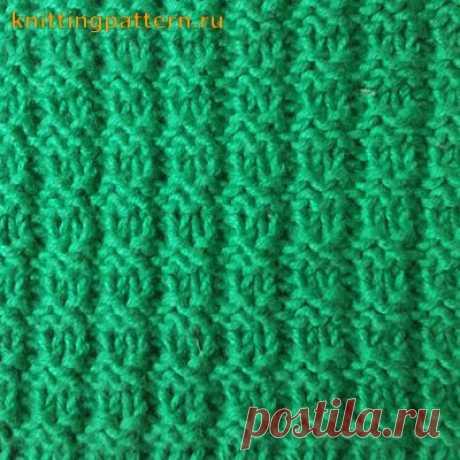 Knitting of an elastic band Boucle Elastic band