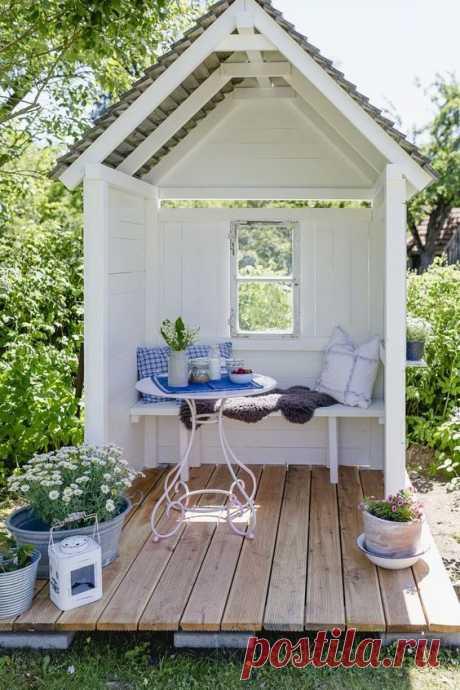 Идеи для грамотной организации пространства во дворе частного дома / Домоседы