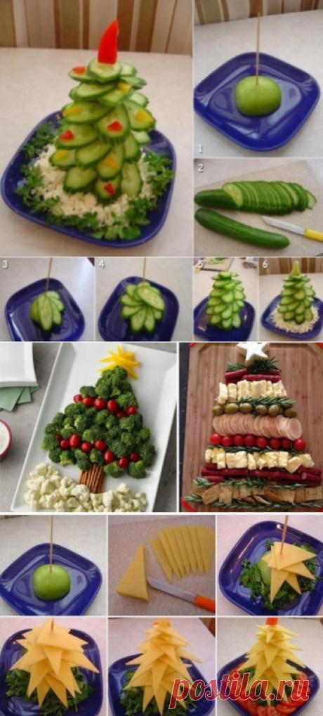 20+ идей, как оформить новогодние нарезки. Просто и красиво