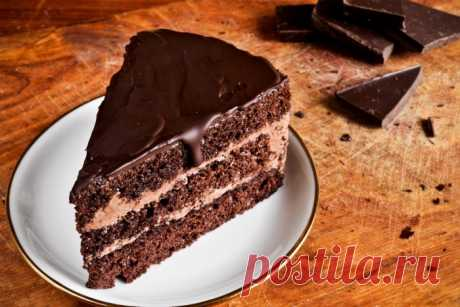 Prague cake: simple recipe of a tasty dessert