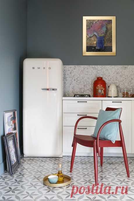 Трехкомнатная квартира, 56 м2 Дизайн: El born Studio Смотреть полностью: