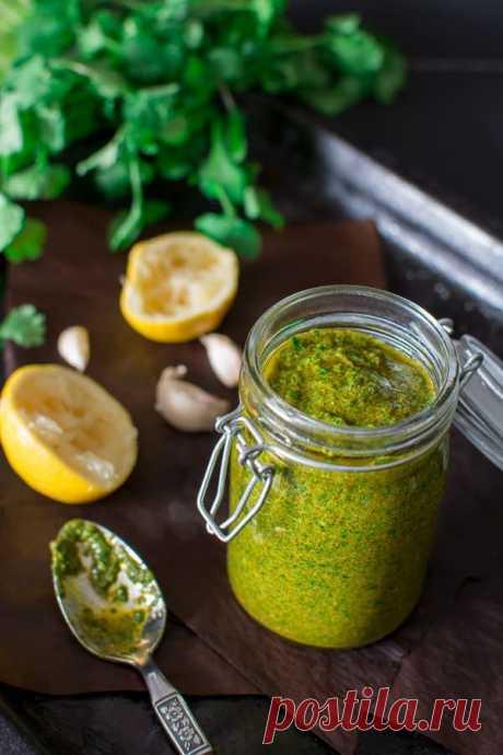 👌 Универсальный соус чермула для ваших блюд, рецепты с фото