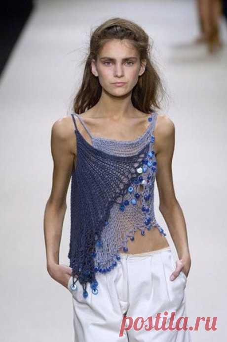 #knitting London Spring 2006 - Bora Aksu