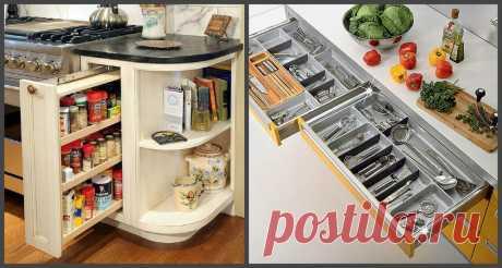 Интересные варианты хранения посуды