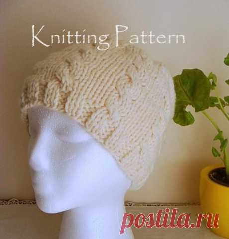 Cable Knit Beanie Patterns