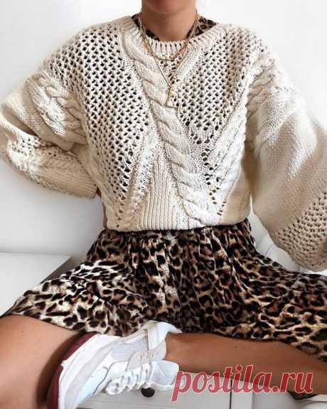 Леопардовый принт в одежде — Красота и мода