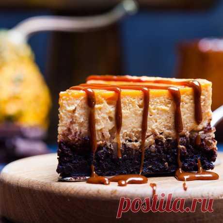 Daria Saveleva | Тыквенный чизкейк. Два рецепта отличных осенних тортов.