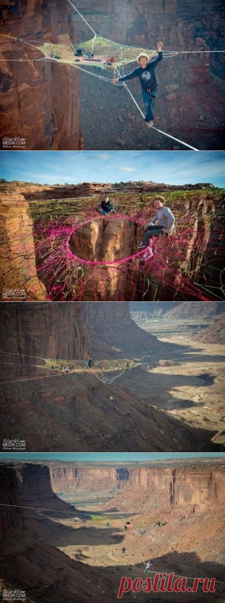 Экстремальная инсталляция в пустыне Мохаве, от которой захватывает дух - Путешествуем вместе