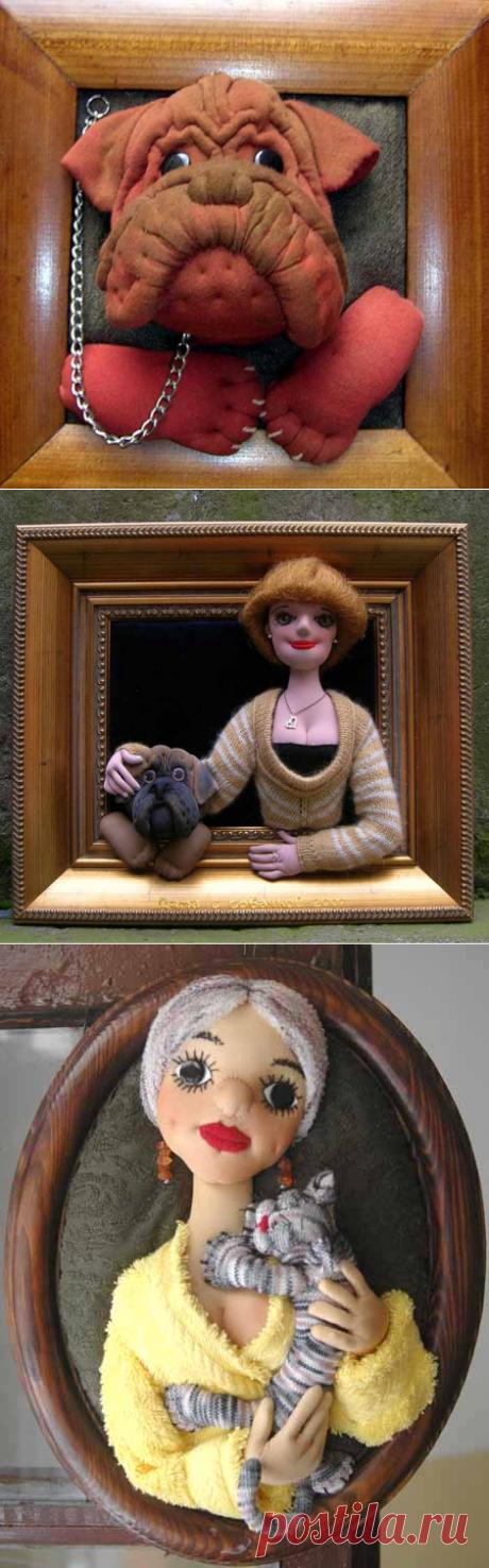 Как сделать барельефную куклу — Делаем руками