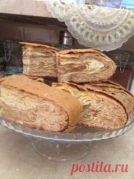 Слоенный пирог Автор рецепта Наринэ - Cookpad